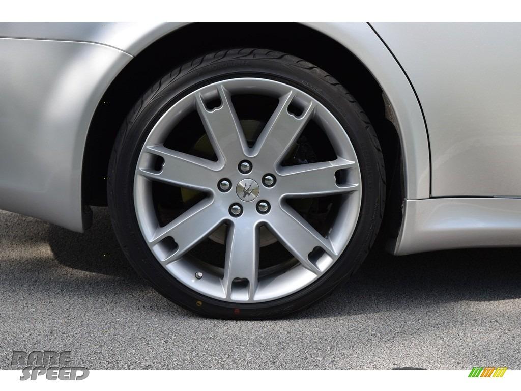 2009 Quattroporte  - Grigio Touring (Silver) / Nero photo #53