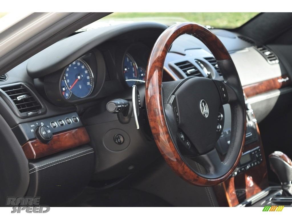 2009 Quattroporte  - Grigio Touring (Silver) / Nero photo #56