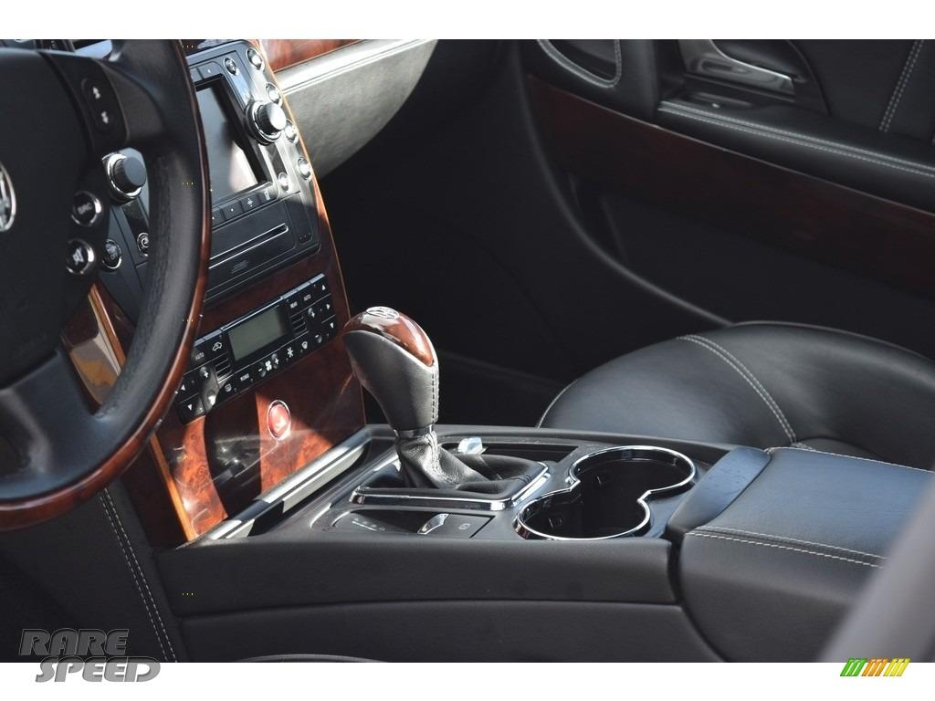 2009 Quattroporte  - Grigio Touring (Silver) / Nero photo #57