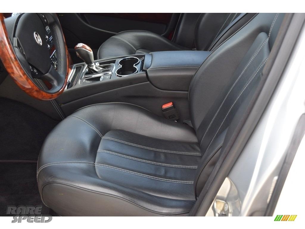 2009 Quattroporte  - Grigio Touring (Silver) / Nero photo #58