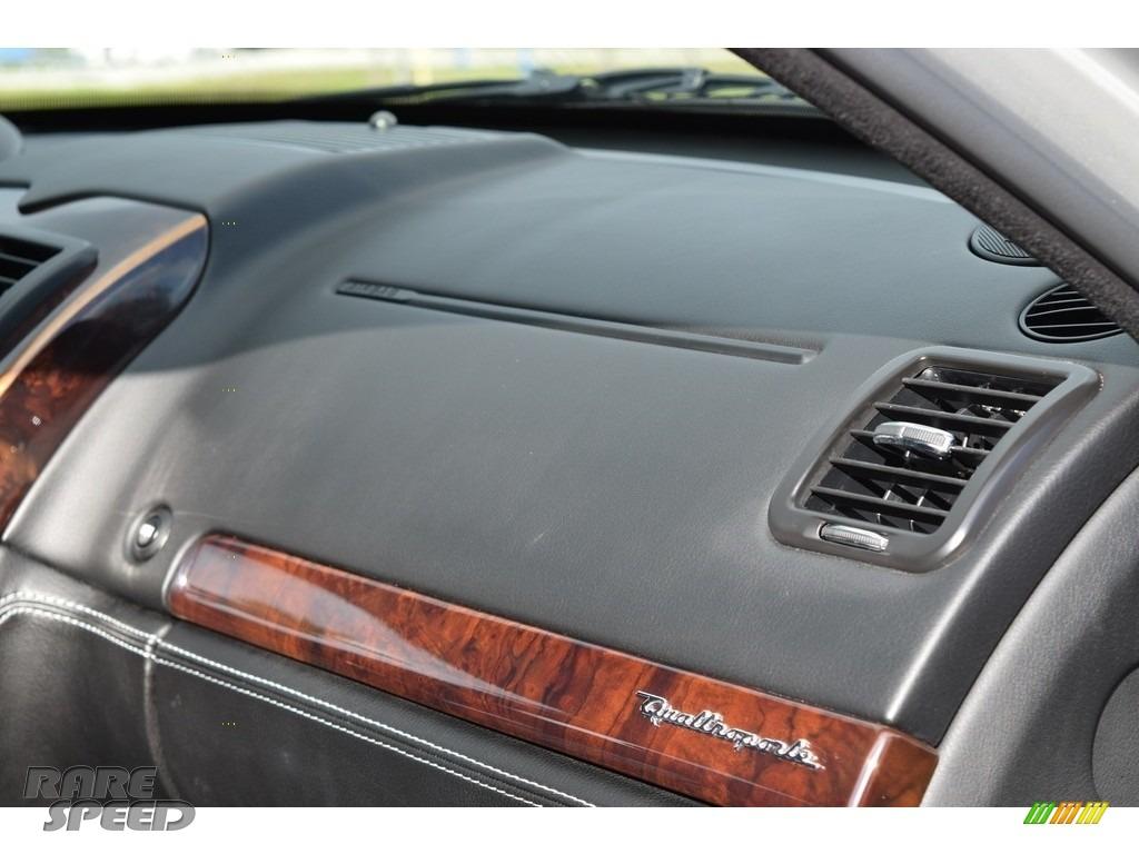 2009 Quattroporte  - Grigio Touring (Silver) / Nero photo #67