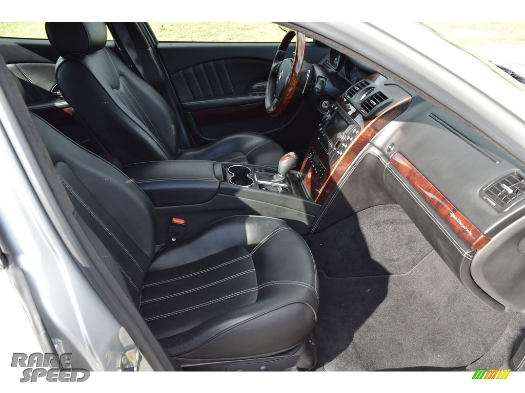 2009 Quattroporte  - Grigio Touring (Silver) / Nero photo #69