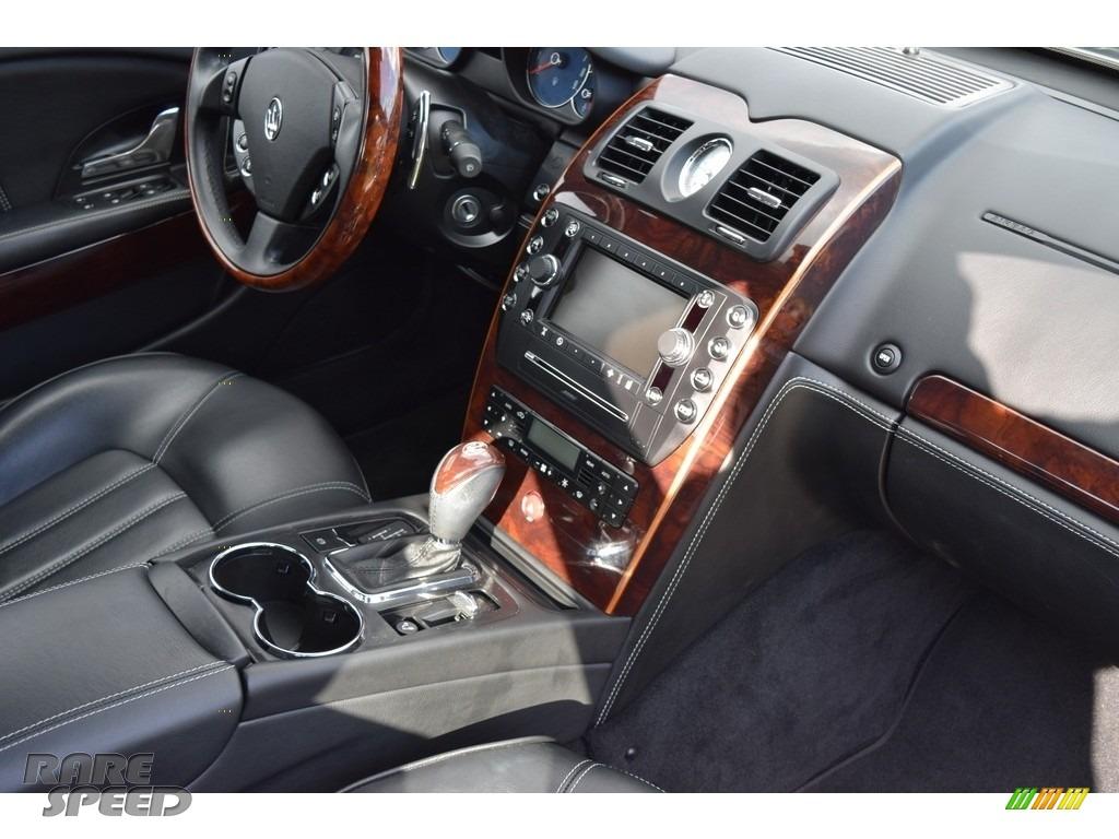 2009 Quattroporte  - Grigio Touring (Silver) / Nero photo #70