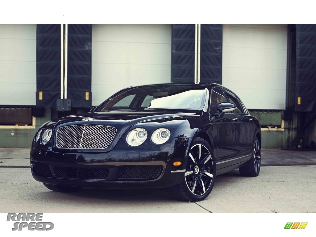 2006 Continental Flying Spur  - Diamond Black / Beluga photo #1