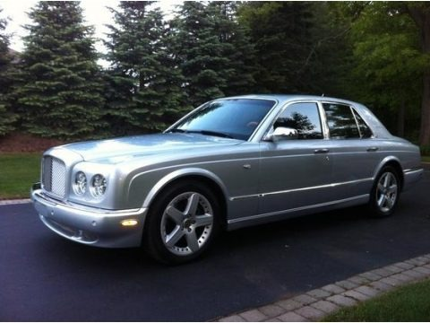 Silver Tempest 2006 Bentley Arnage T