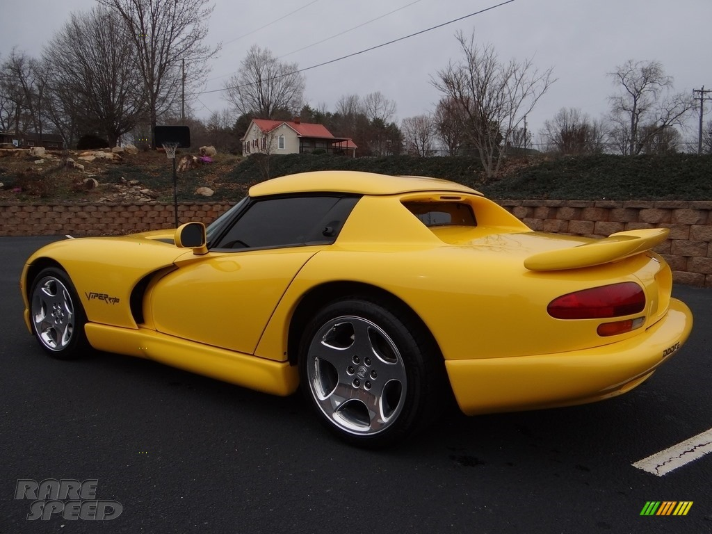 2001 Viper RT-10 - Viper Race Yellow / Black photo #5