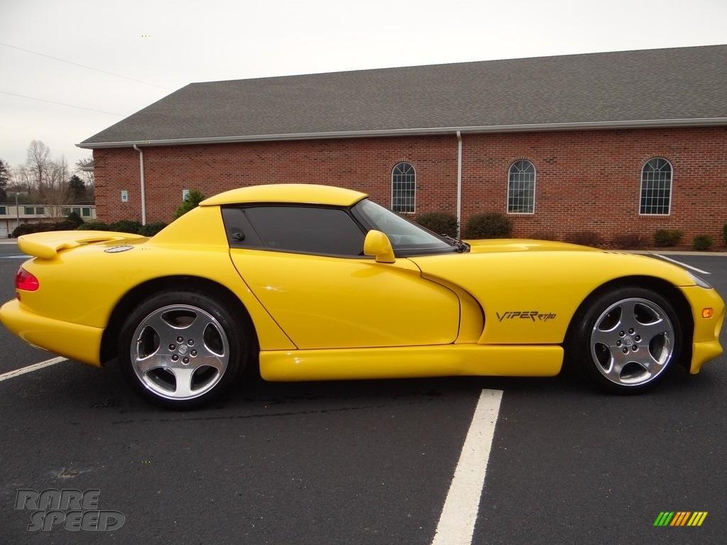 2001 Viper RT-10 - Viper Race Yellow / Black photo #8