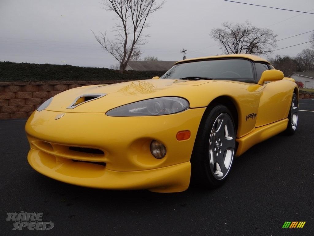 2001 Viper RT-10 - Viper Race Yellow / Black photo #11