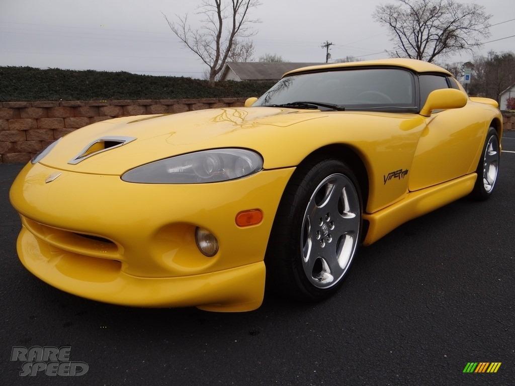 2001 Viper RT-10 - Viper Race Yellow / Black photo #12