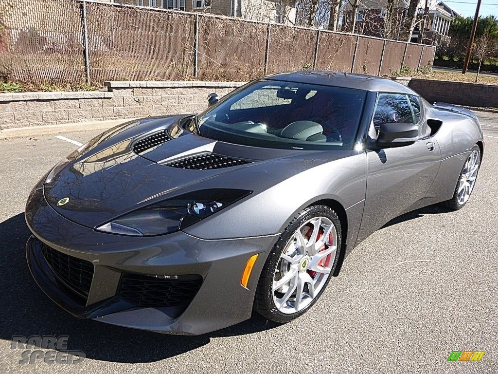 Metallic Grey / Red Lotus Evora 400