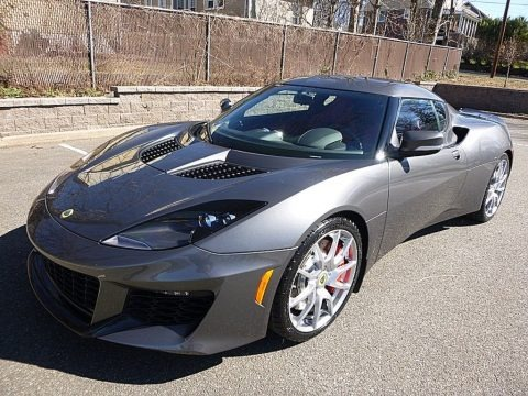 Metallic Grey 2017 Lotus Evora 400