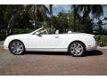 Bentley Continental GTC  Glacier White photo #1