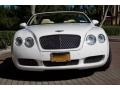 Bentley Continental GTC  Glacier White photo #7