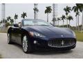 Maserati GranTurismo Convertible GranCabrio Blu Mediterraneo (Blue Metallic) photo #6