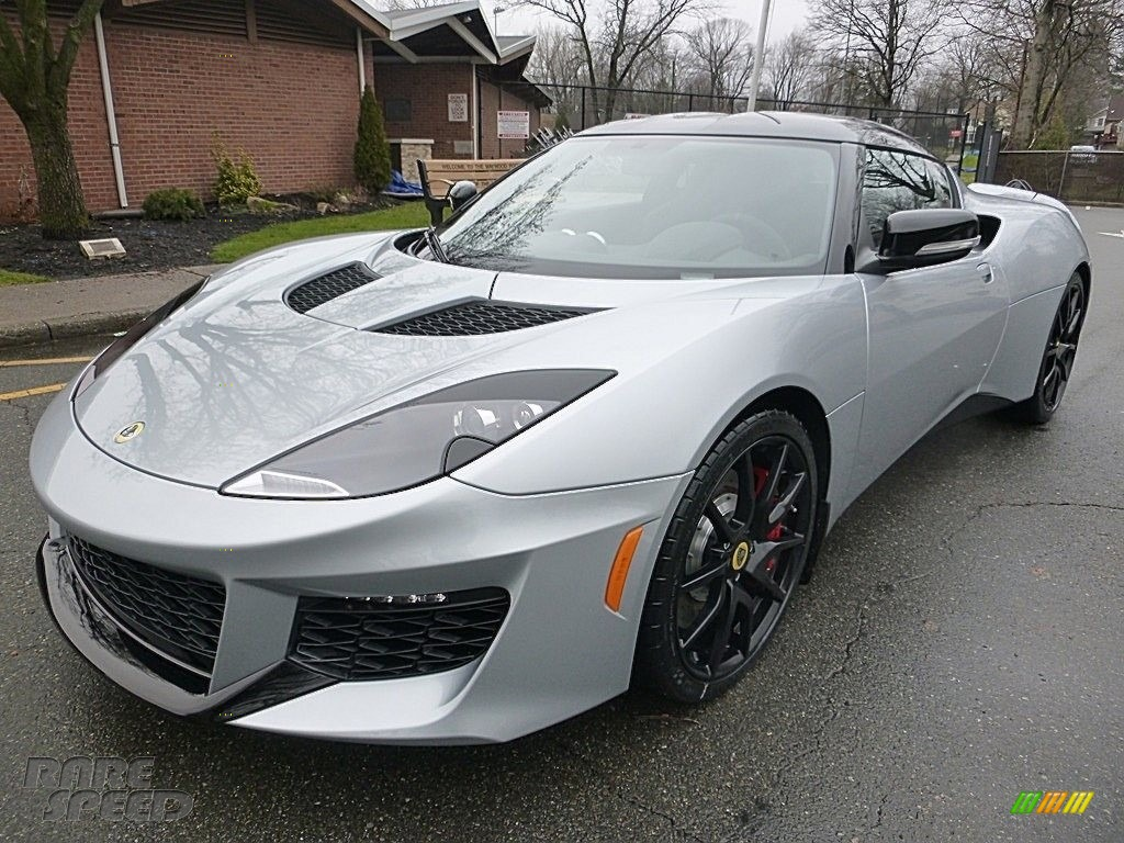 Metallic Silver / Black Lotus Evora 400