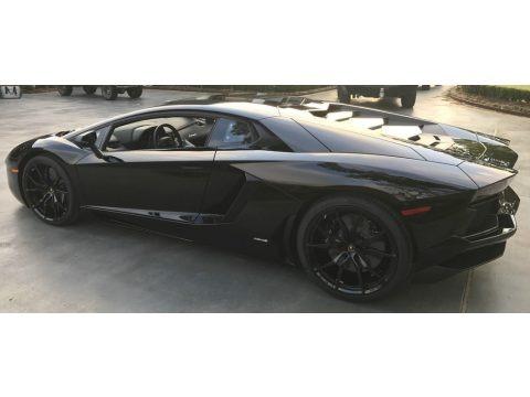 Nero Aldebaran 2017 Lamborghini Aventador LP700-4 Coupe