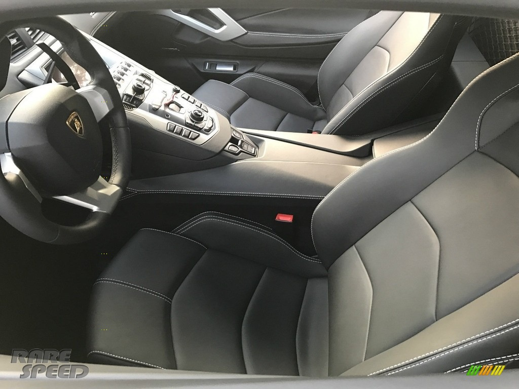 2017 Aventador LP700-4 Coupe - Nero Aldebaran / Nero Ade photo #6