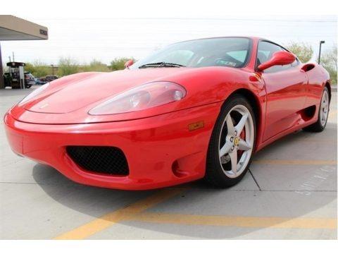 Rosso Corsa (Red) 2000 Ferrari 360 Modena