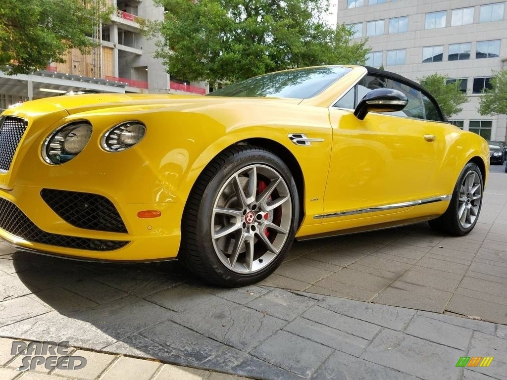 2016 Continental GTC V8  - Monaco Yellow / Beluga photo #1