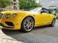 Bentley Continental GTC V8  Monaco Yellow photo #1