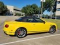 Bentley Continental GTC V8  Monaco Yellow photo #7