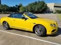 Bentley Continental GTC V8  Monaco Yellow photo #8
