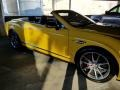Bentley Continental GTC V8  Monaco Yellow photo #9