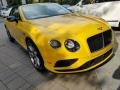 Bentley Continental GTC V8  Monaco Yellow photo #10