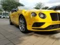 Bentley Continental GTC V8  Monaco Yellow photo #11