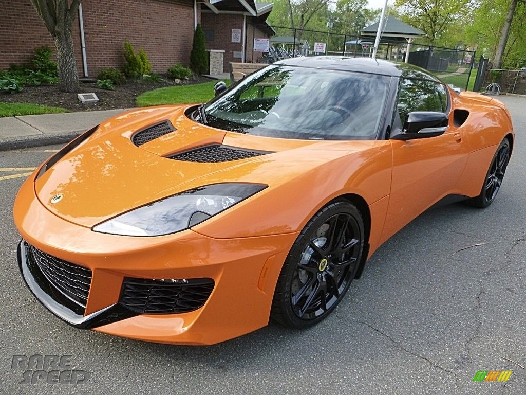 Metallic Orange / Black Lotus Evora 400
