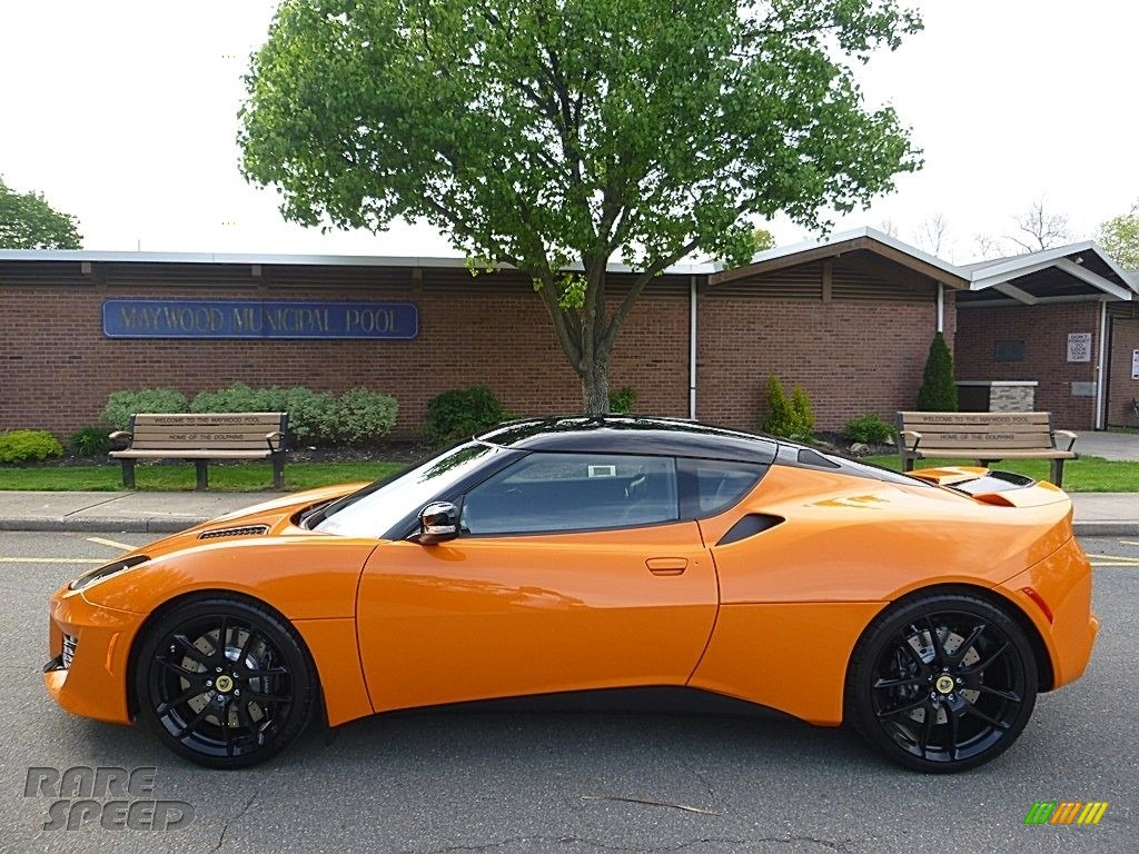 2017 Evora 400 - Metallic Orange / Black photo #2