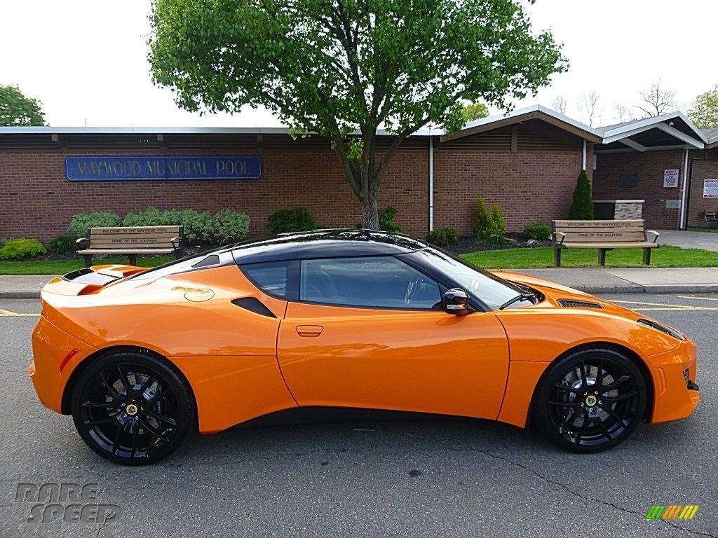 2017 Evora 400 - Metallic Orange / Black photo #7