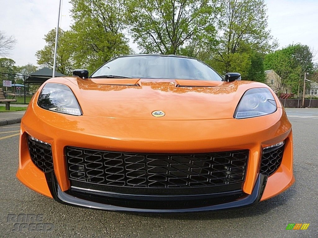 2017 Evora 400 - Metallic Orange / Black photo #9