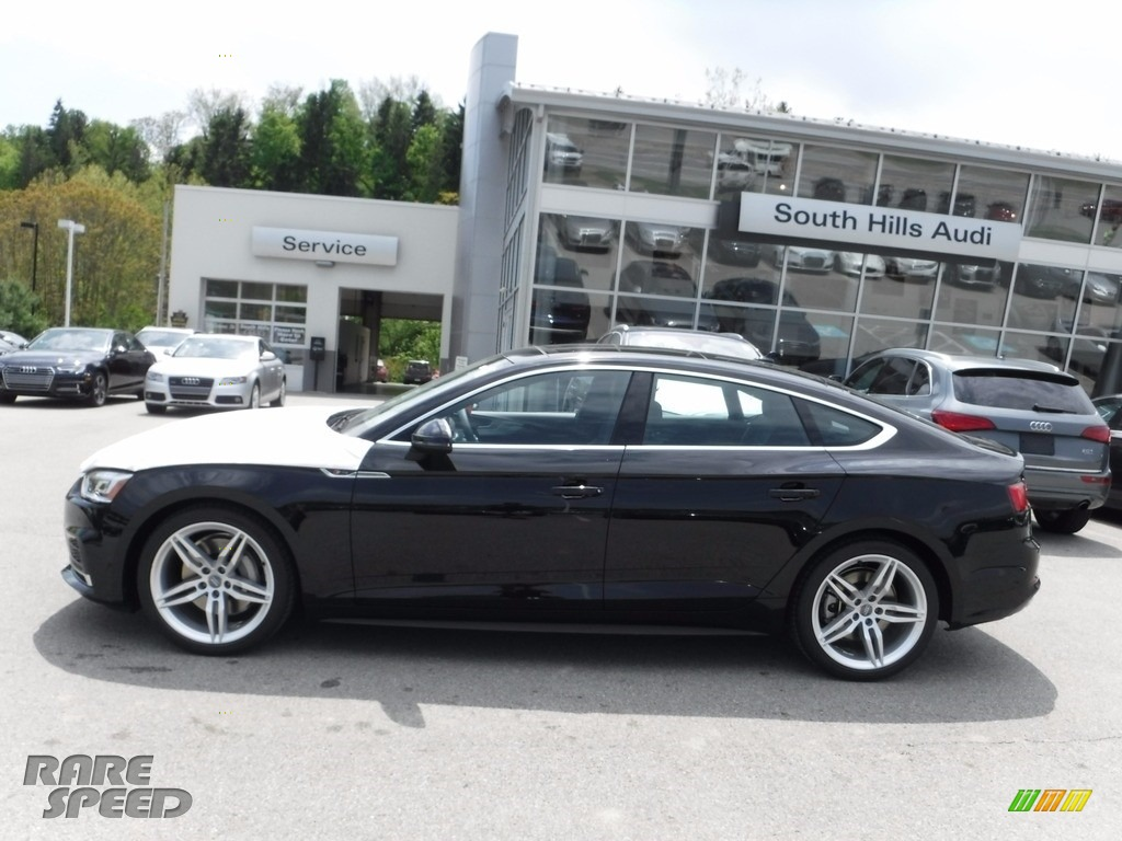 2018 Audi A5 Sportback Premium Plus Quattro In Mythos Black Metallic Photo 2 007436 Rarespeed Com