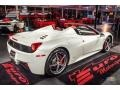 Ferrari 458 Spider Bianco Avus (White) photo #3