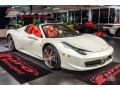 Ferrari 458 Spider Bianco Avus (White) photo #4