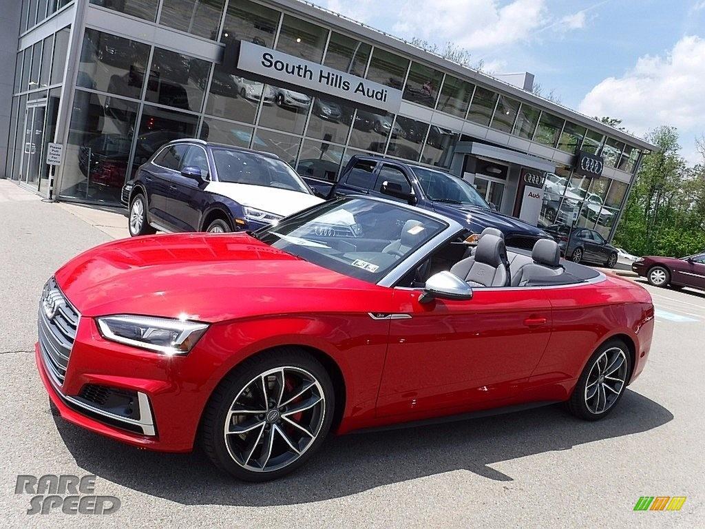 Audi S Premium Plus Cabriolet In Tango Red Metallic - South hills audi