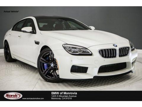 Frozen Brilliant White Metallic 2018 BMW M6 Gran Coupe