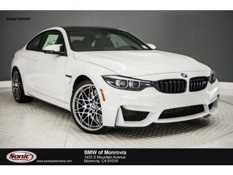 Alpine White 2018 BMW M4 Coupe