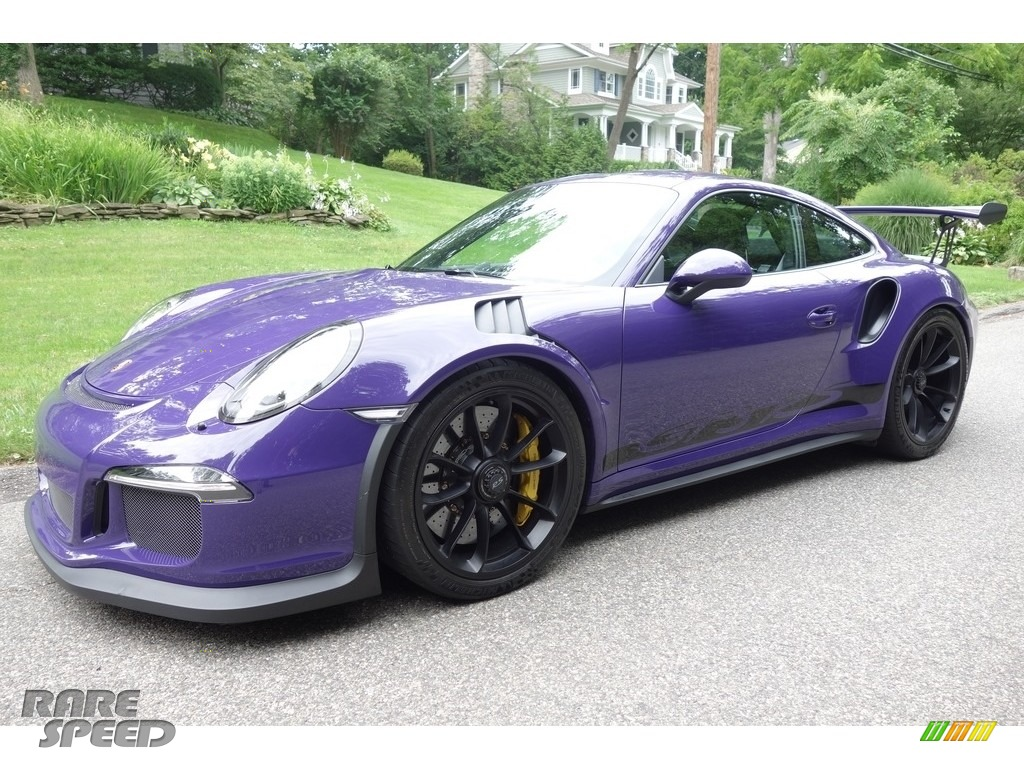 2016 911 GT3 RS - Ultraviolet / Black photo #1
