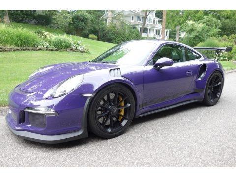 Ultraviolet 2016 Porsche 911 GT3 RS