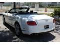 Bentley Continental GTC V8  Glacier White photo #8