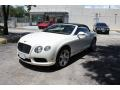Bentley Continental GTC V8  Glacier White photo #16