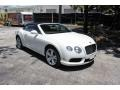 Bentley Continental GTC V8  Glacier White photo #18