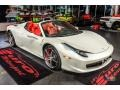 Ferrari 458 Spider Bianco Avus (White) photo #5