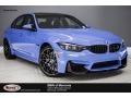BMW M3 Sedan Yas Marina Blue Metallic photo #1