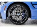 BMW M3 Sedan Yas Marina Blue Metallic photo #9