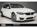 BMW M3 Sedan Alpine White photo #1