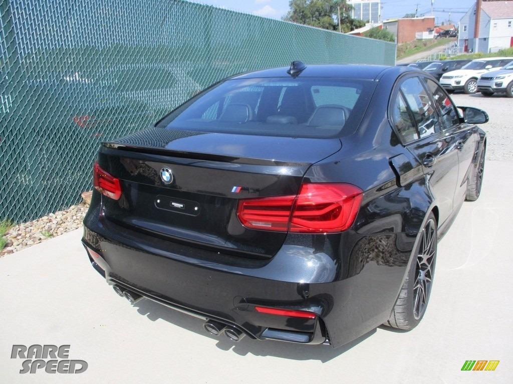 2018 M3 Sedan - Black Sapphire Metallic / Black photo #3