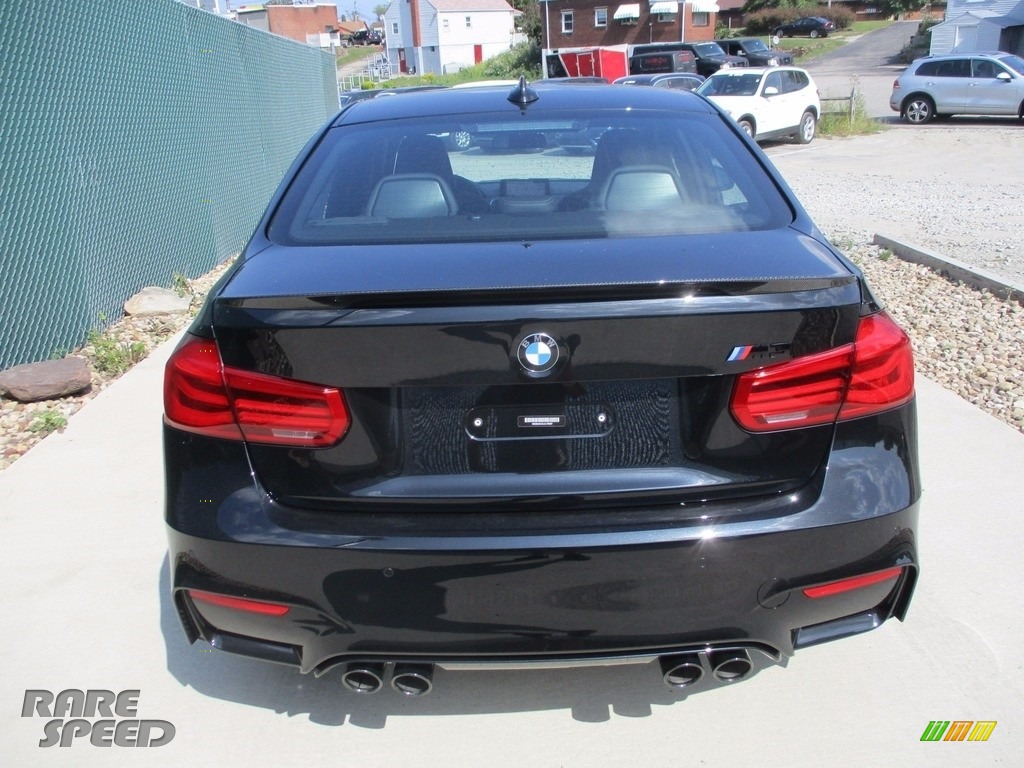 2018 M3 Sedan - Black Sapphire Metallic / Black photo #4